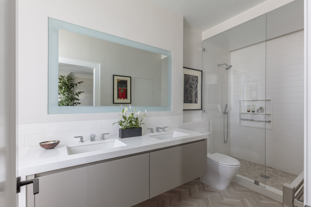 DESIGN415 | San Francisco Pacific Heights Master Bathroom Remodel