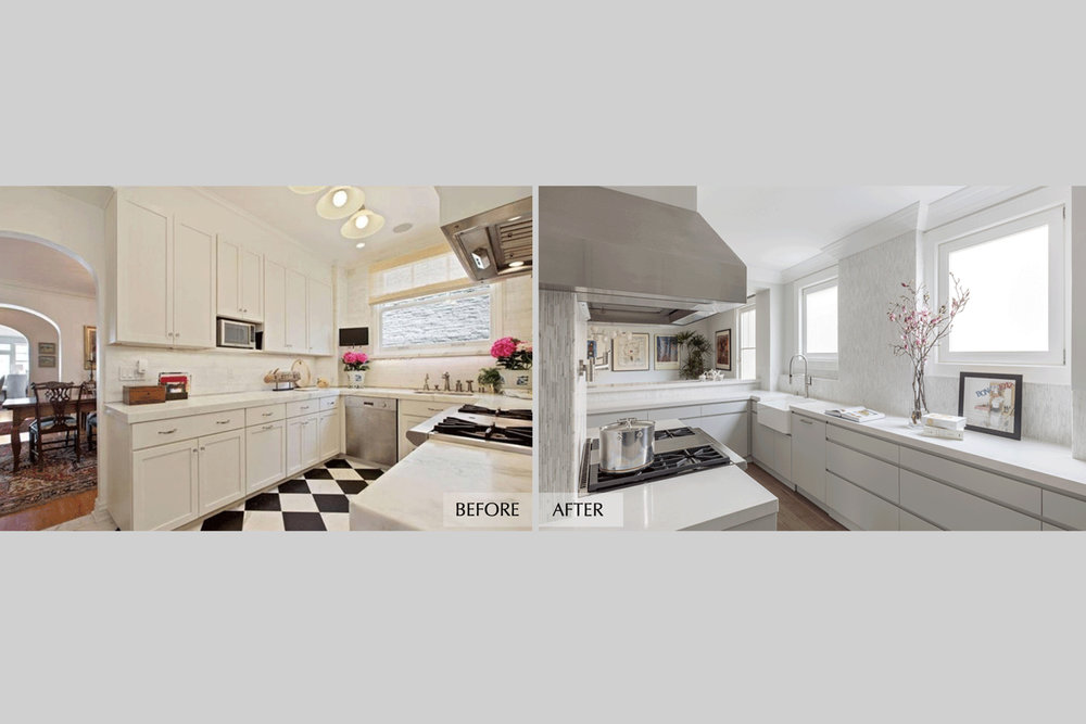 DESIGN415 | San Francisco Pacific Heights Before and After Kitchen Remodel