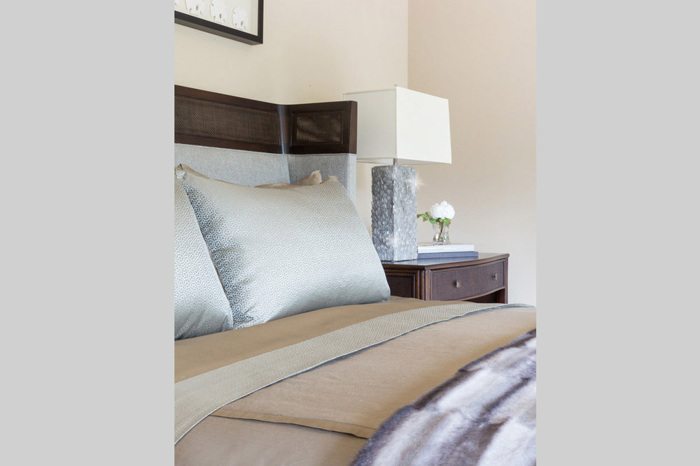 DESIGN415 | Atherton Guest Bedroom Decor