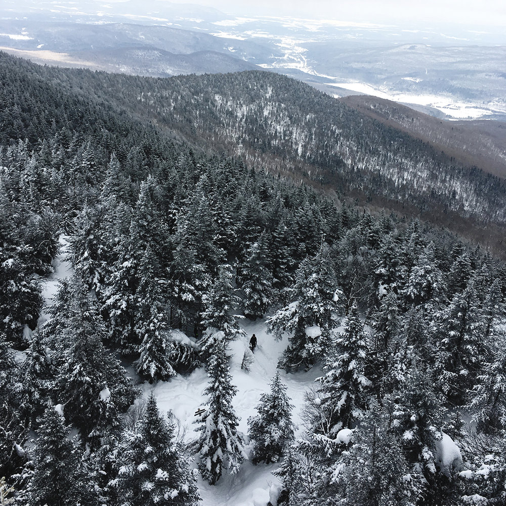 Mont sutton hiver