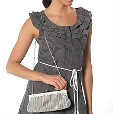 Franchi Silver bag on model.jpg