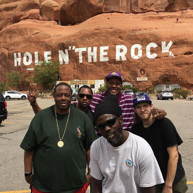 @officialblackalicious Aug/Sep tour crew! Thanks everyone for coming out!  #tour #montana #blackalicious
