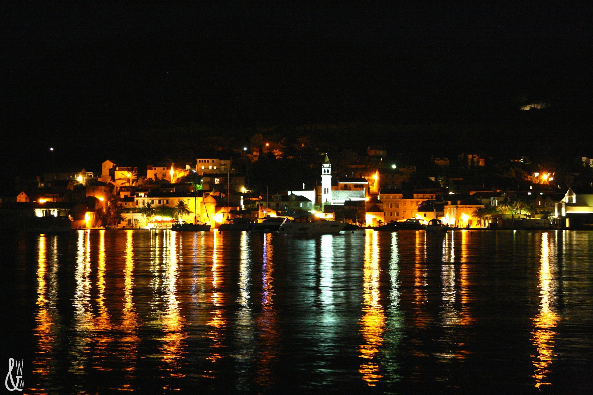 vis by night | croatia