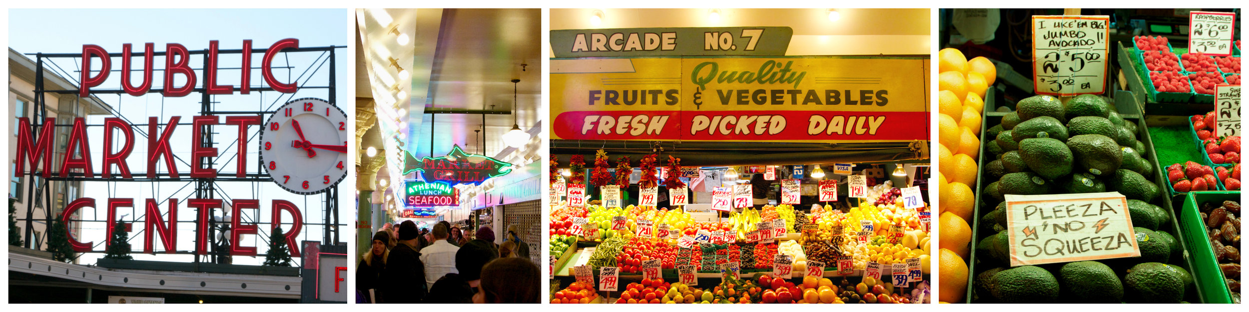 Pike Market Collage