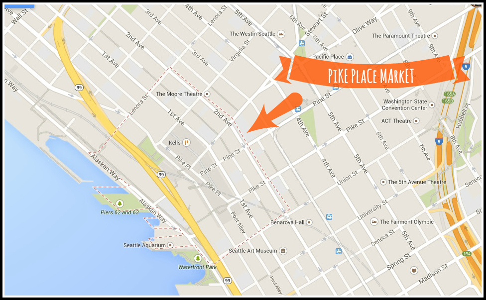 pike place map