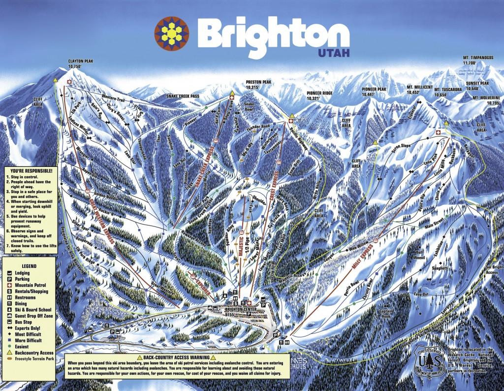 brighton ski resort trailmap