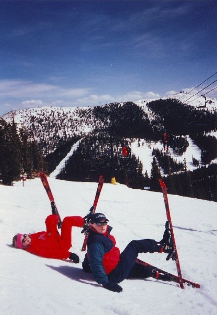 Ski bunnies back in the day