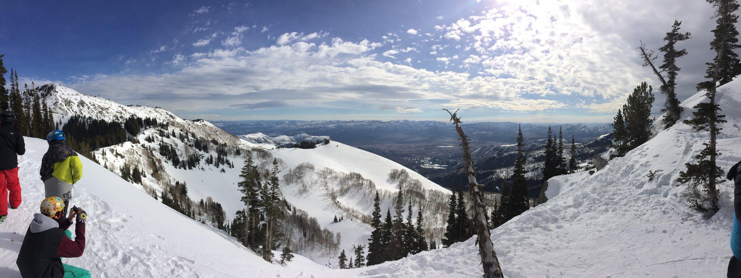 great view from brighton ski resort