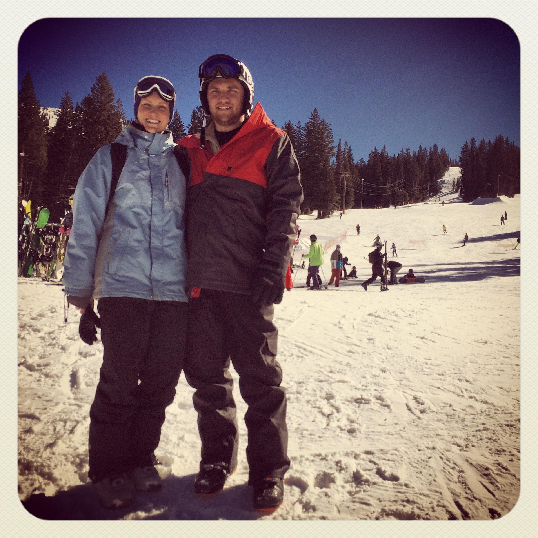 all bundled up at brighton ski resort