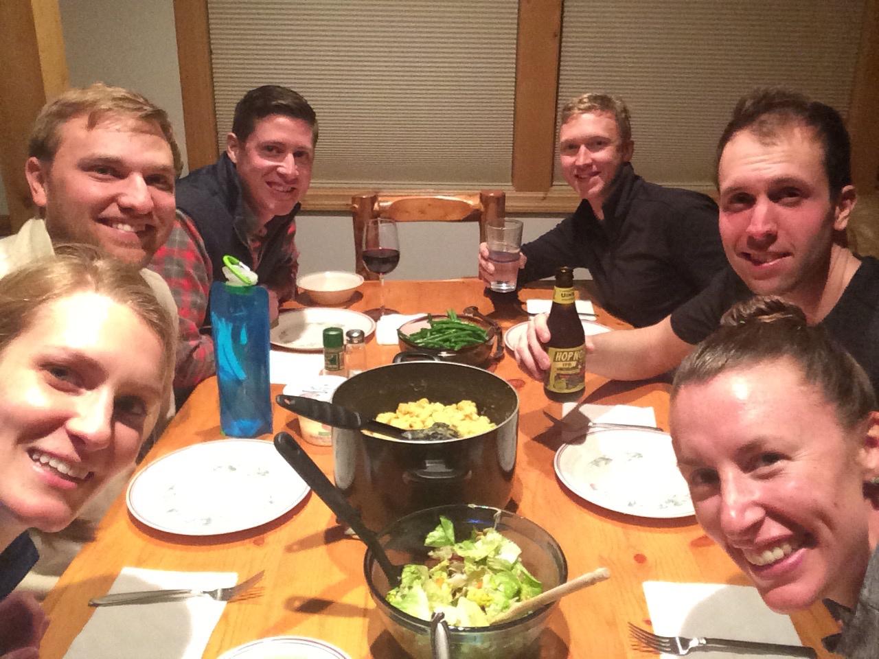 the gang at brighton ski resort