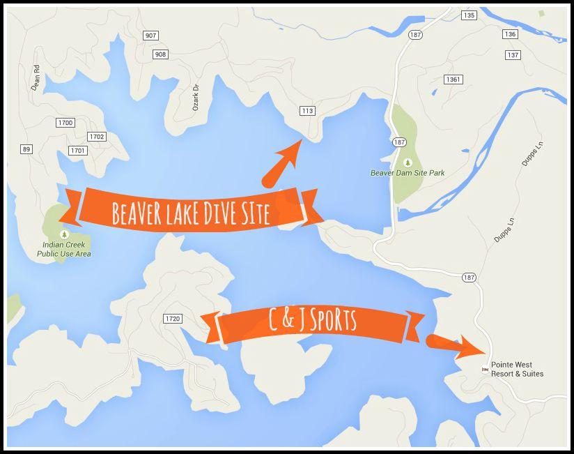 our scuba open water certification location in arkansas