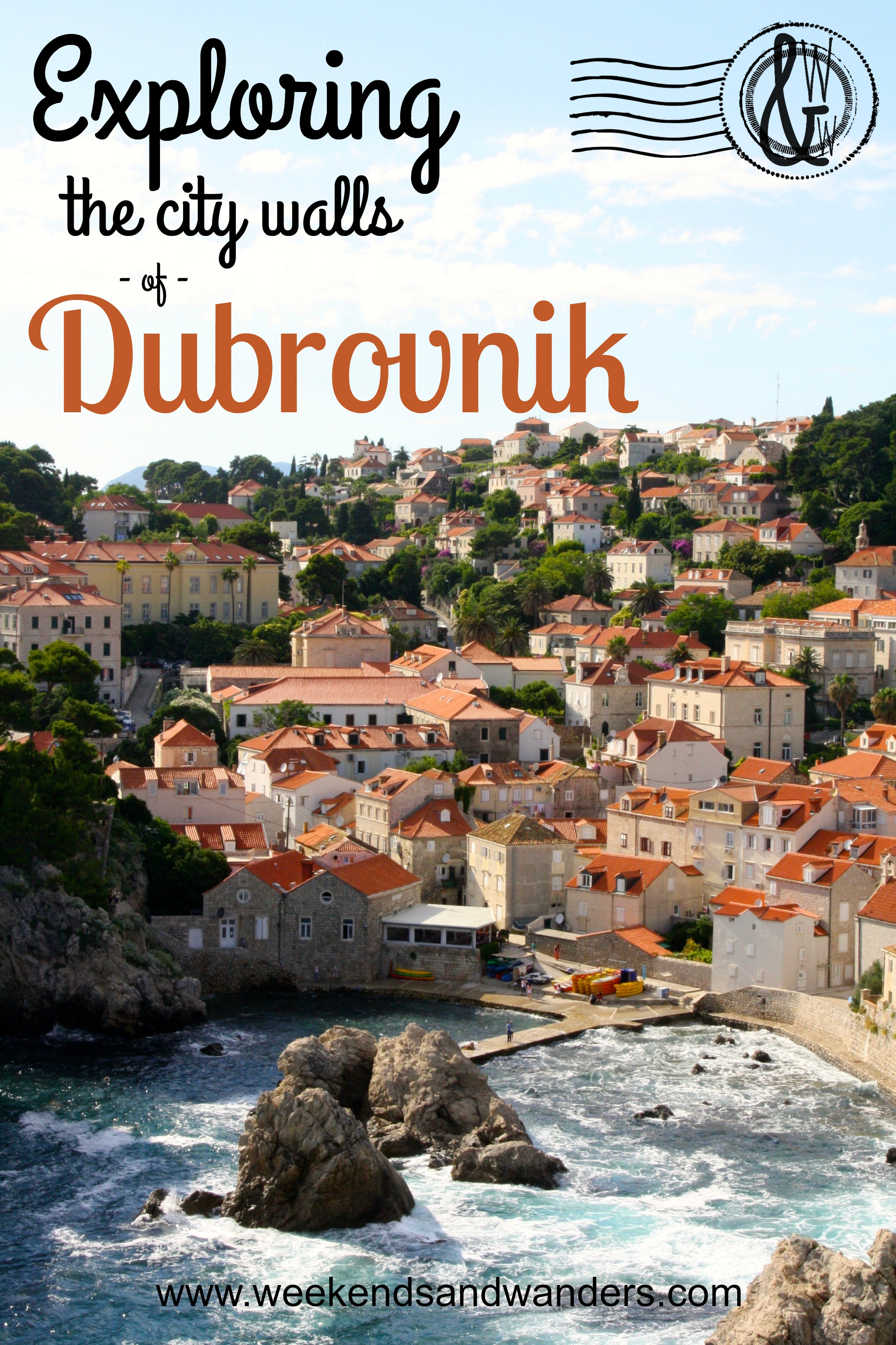 Exploring the City Walls of Dubrovnik, Croatia