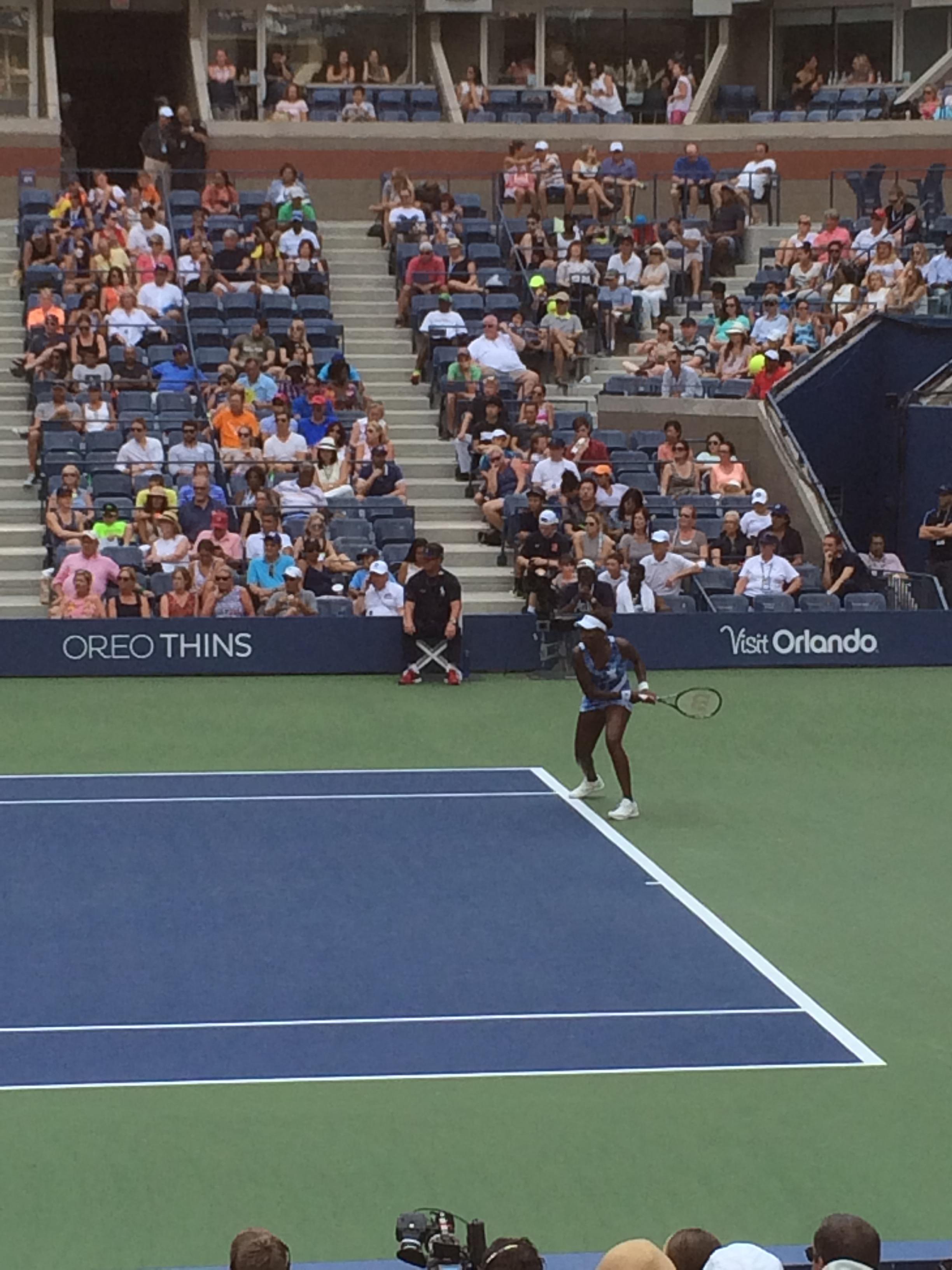 US Open Venus Williams