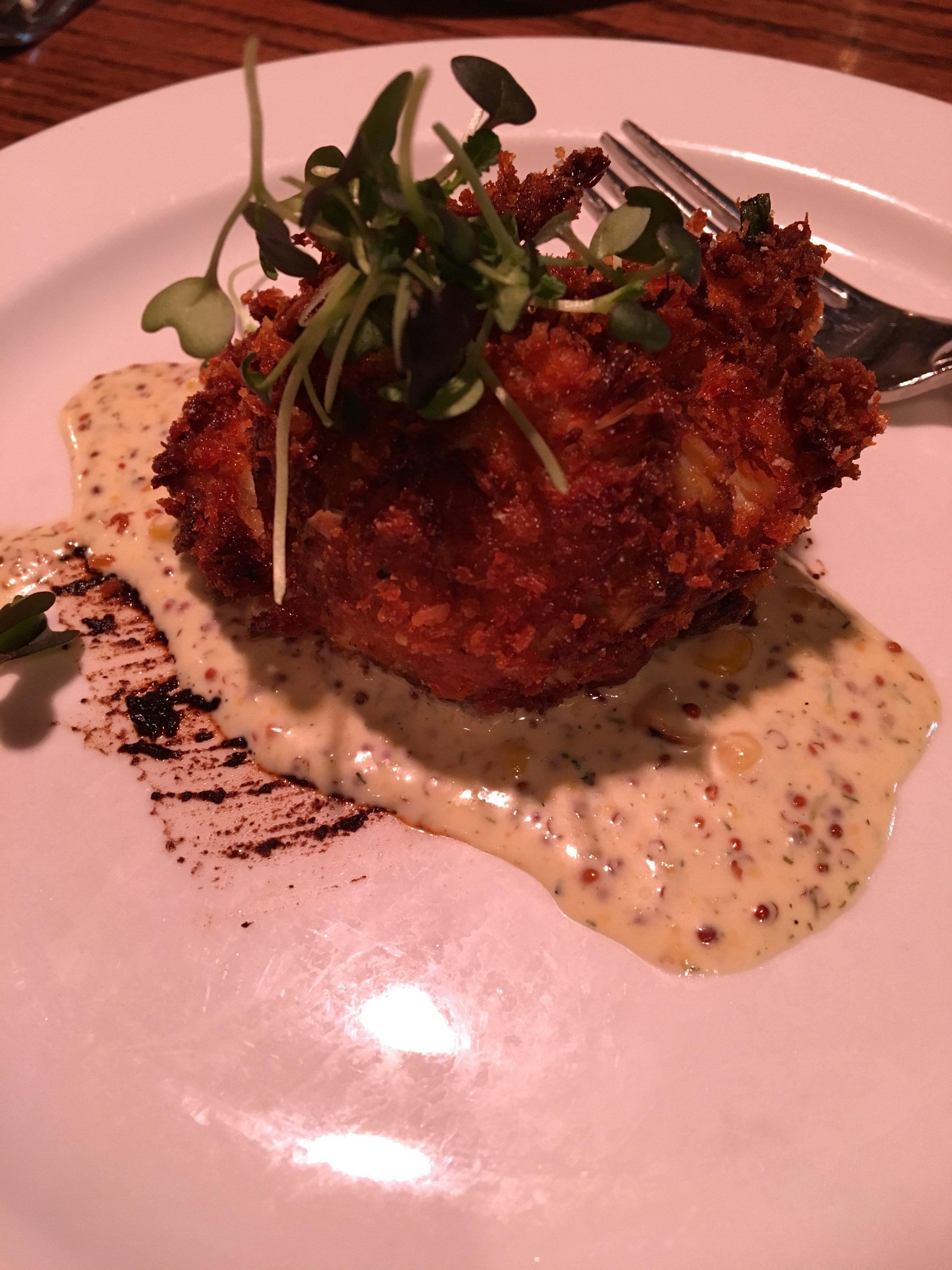 Kansas City Restaurant Week - Pierponts - Crab Cake