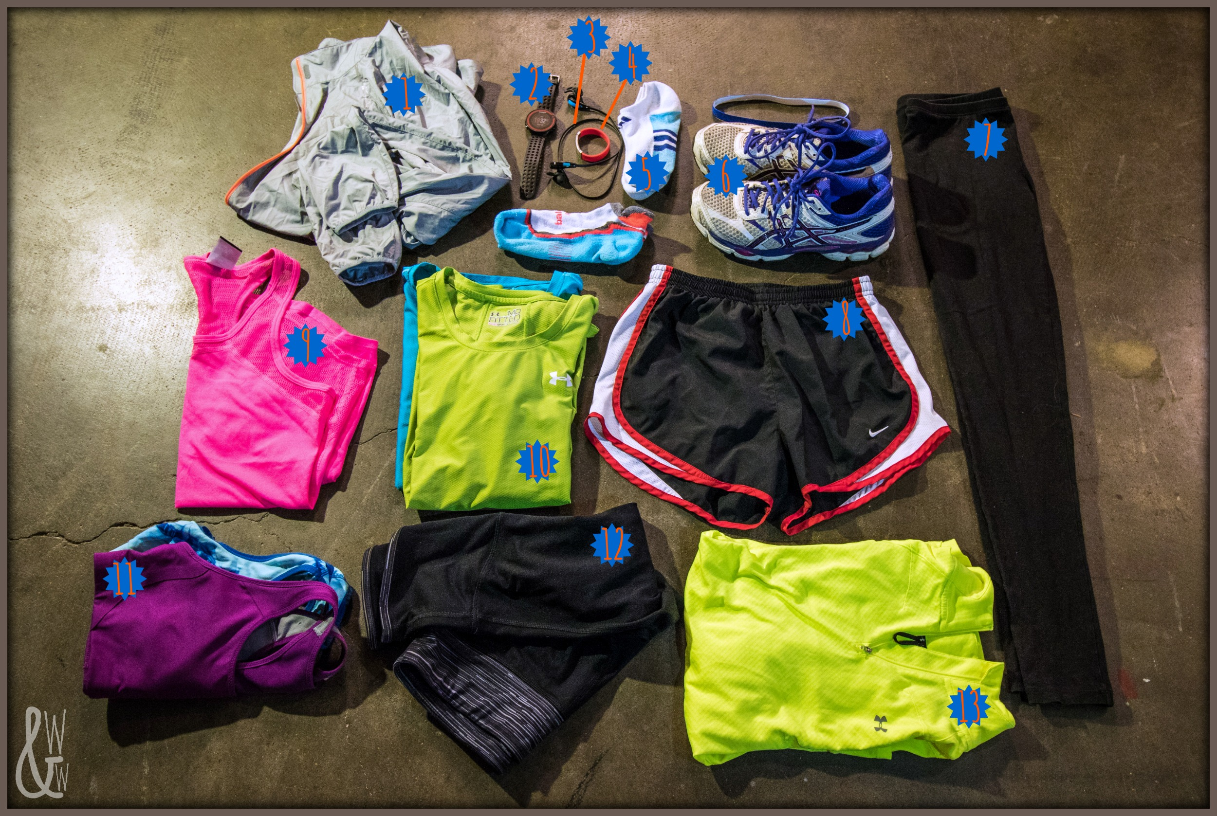 Not sure what to pack for a race? Everything!