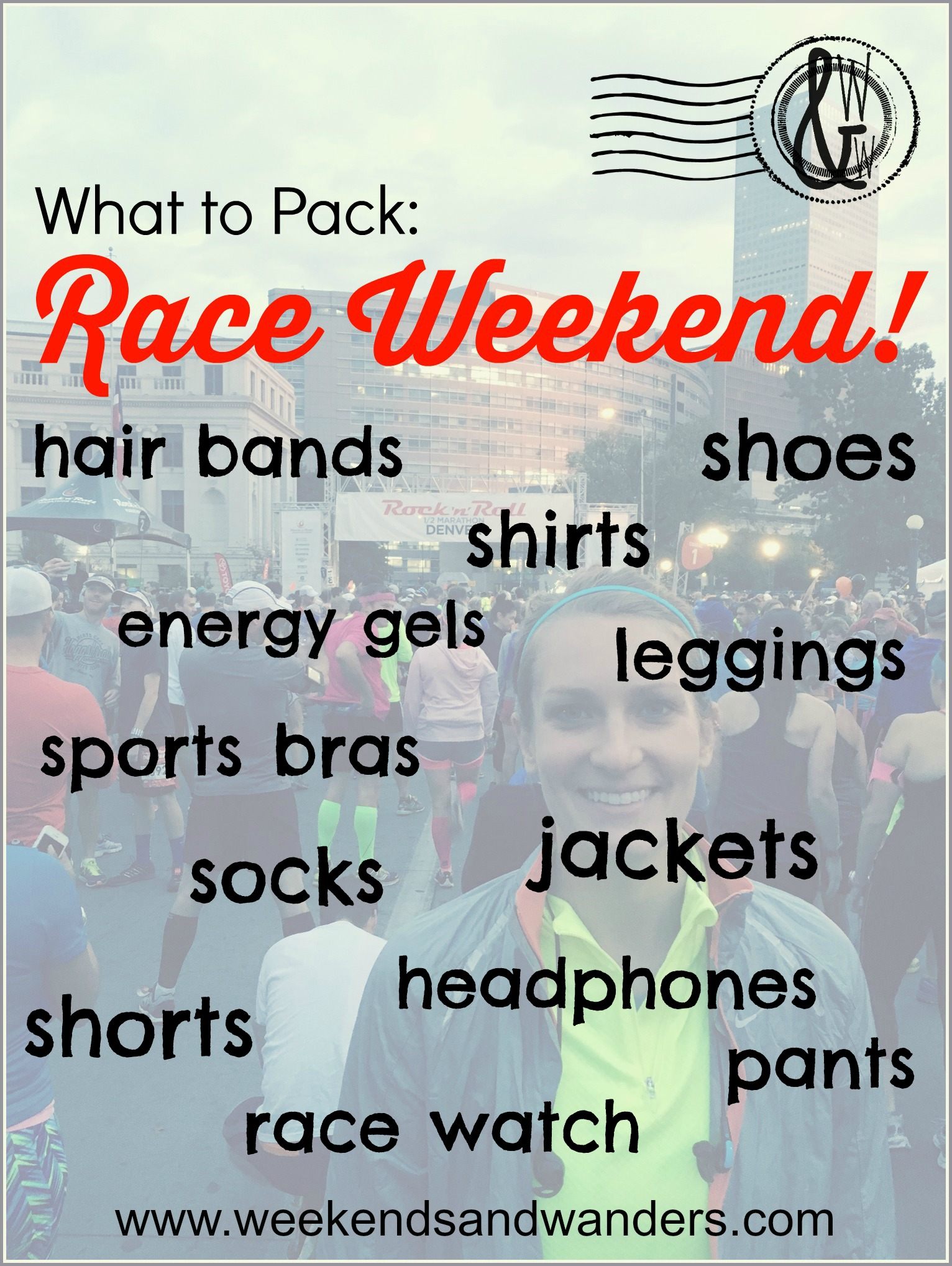 Knowing what to pack for a race weekend can be tricky. What if you forget something? What if it rains? See how I make sure I'm prepared for everything!