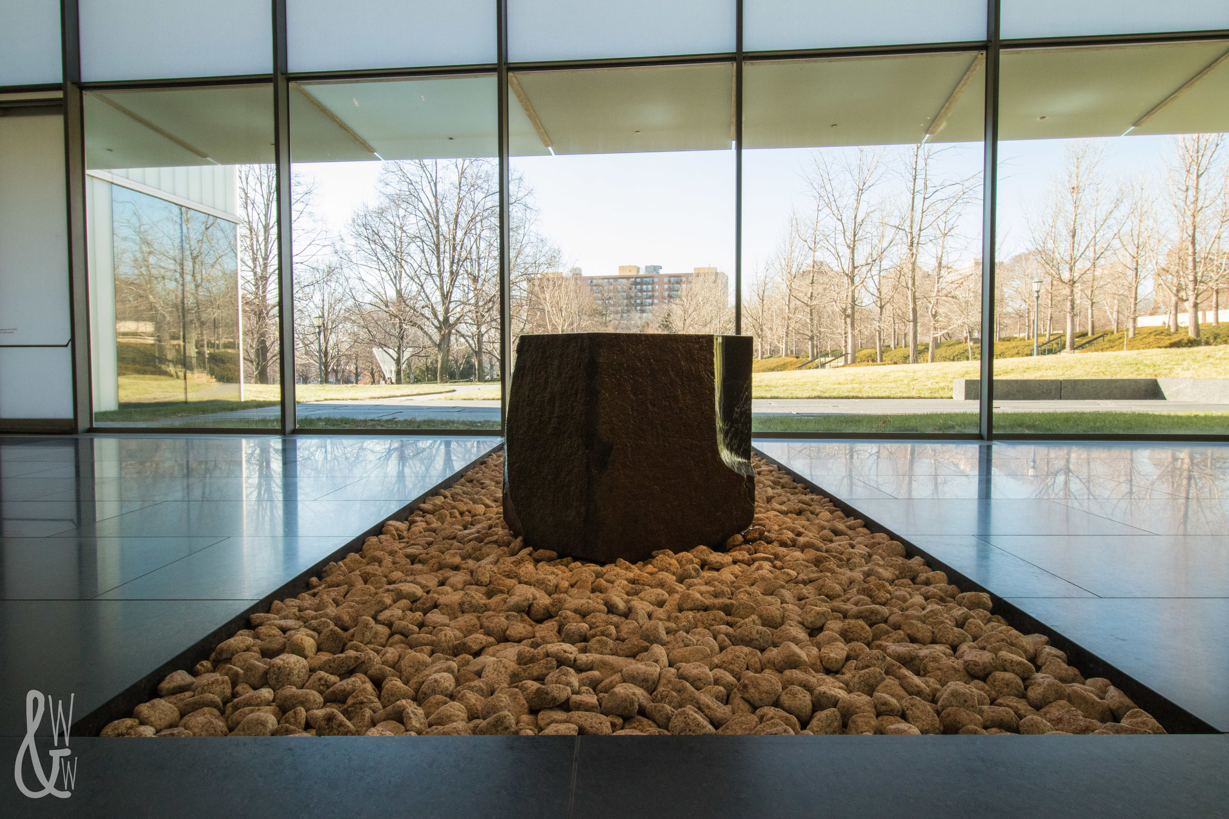 When it's too cold outside for winter photography, take the camera indoors! The Nelson-Atkins Museum in Kansas City is a prime location.