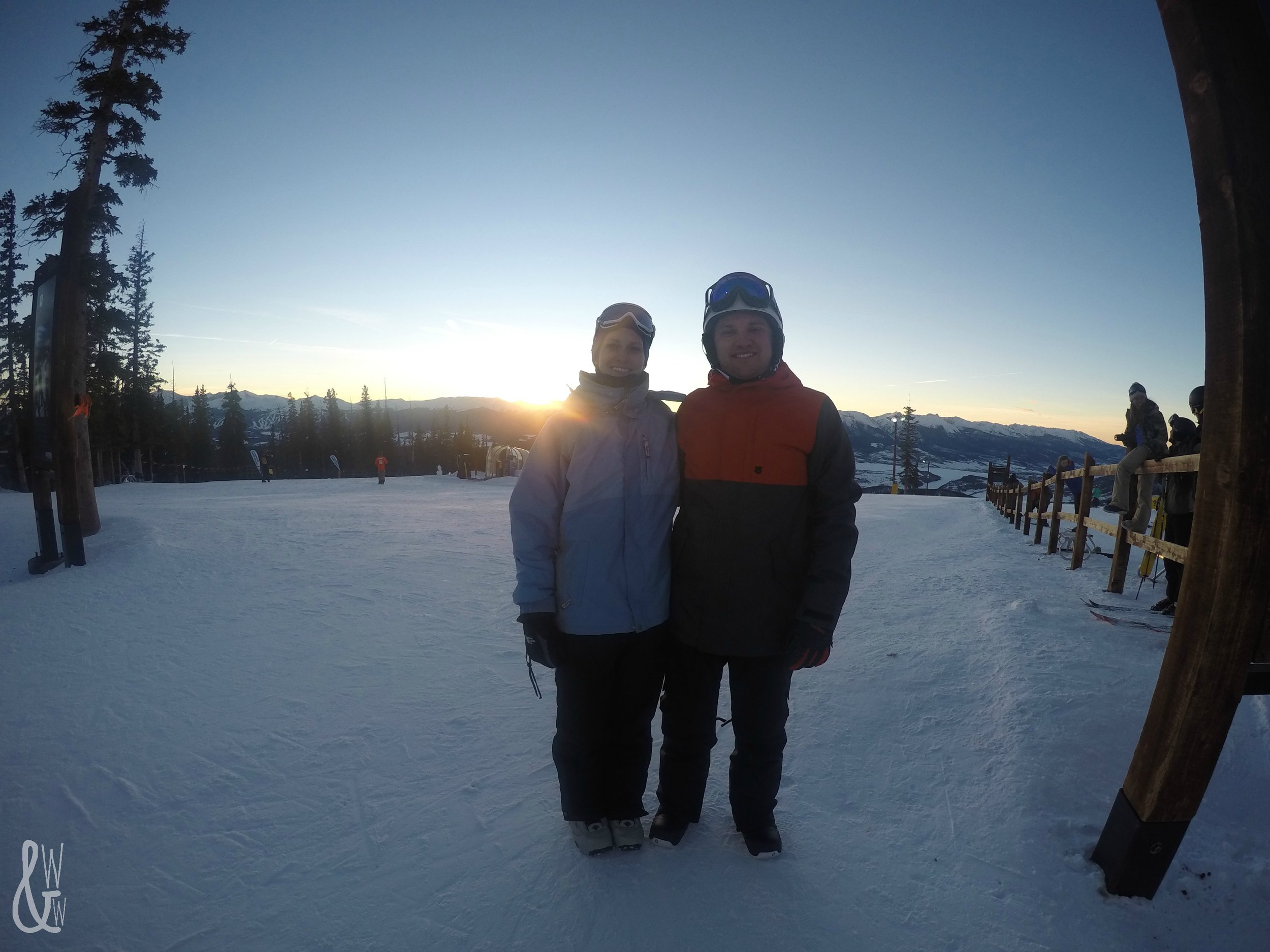 Enjoying my February photography challenge by trying out my new GoPro!