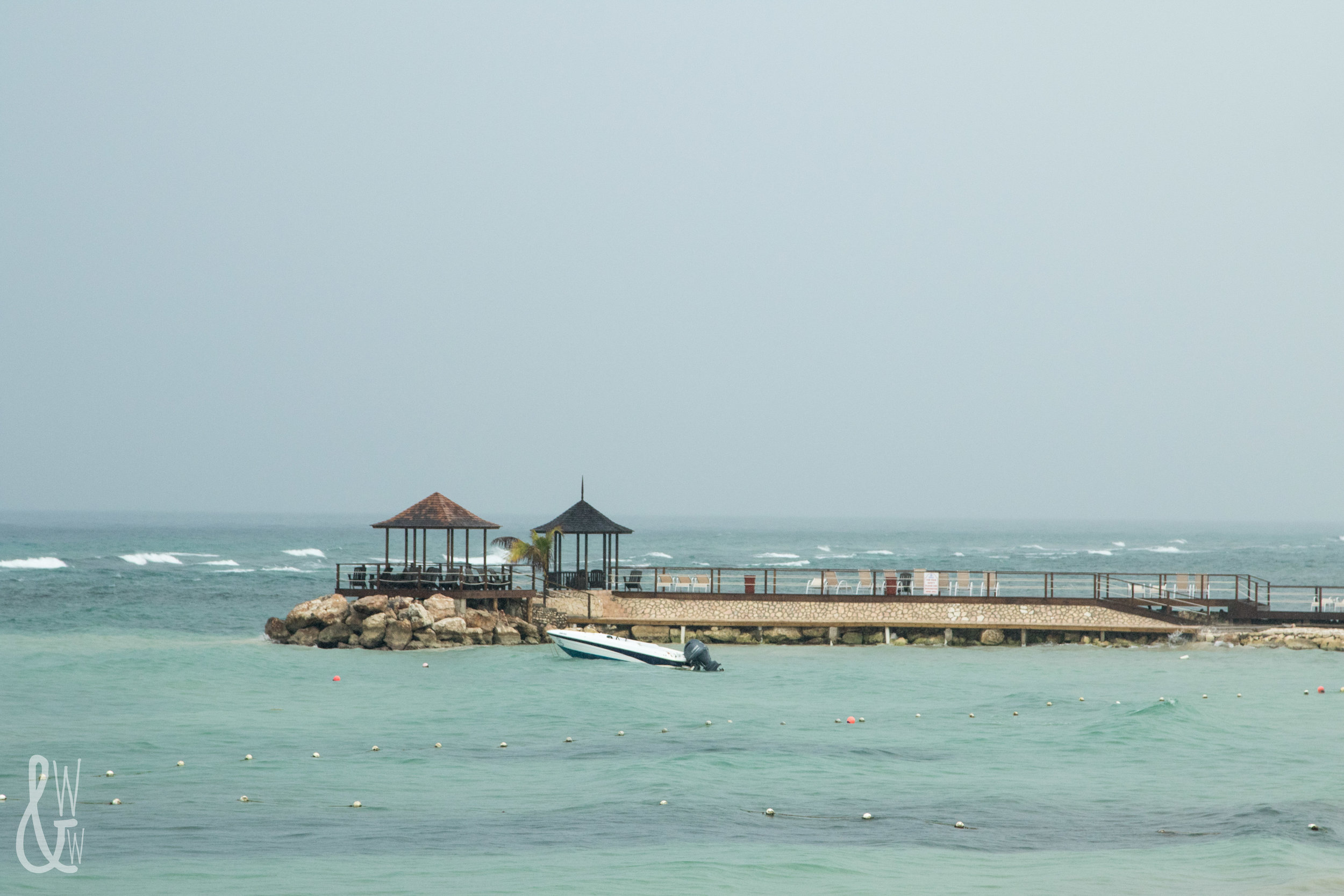 Pier at Montego Bay, Jamaica
