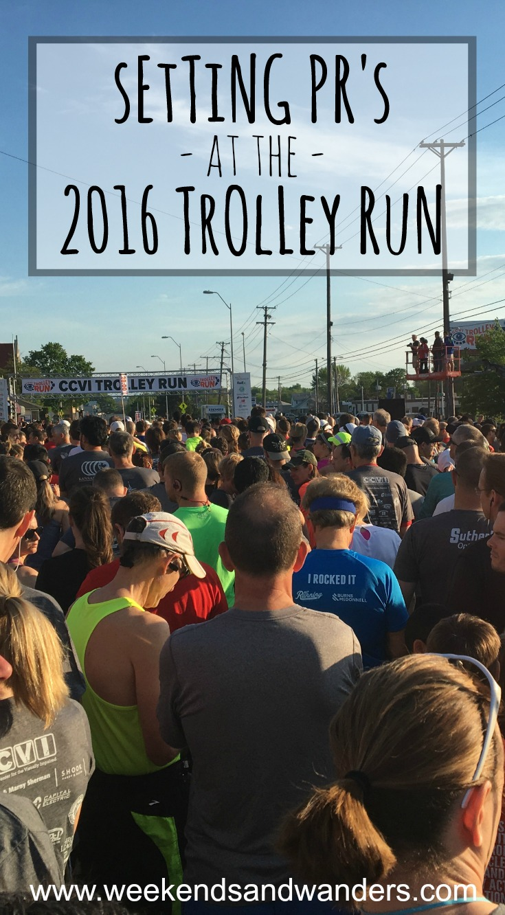 2016 was a great year for the Kansas City Trolley Run! I blasted my short distance PR out of the water! Visit Weekends & Wanders to see how I did!