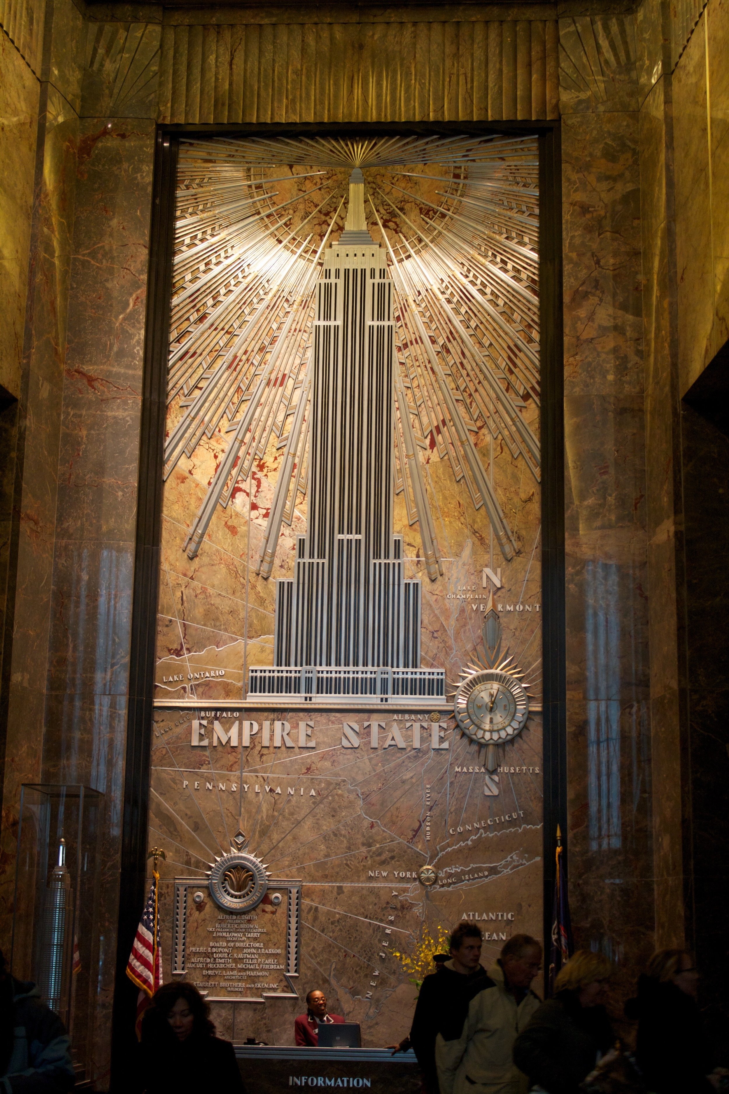 The Empire State Building is one of the most iconic New York City outdoor sights. Don't miss it!