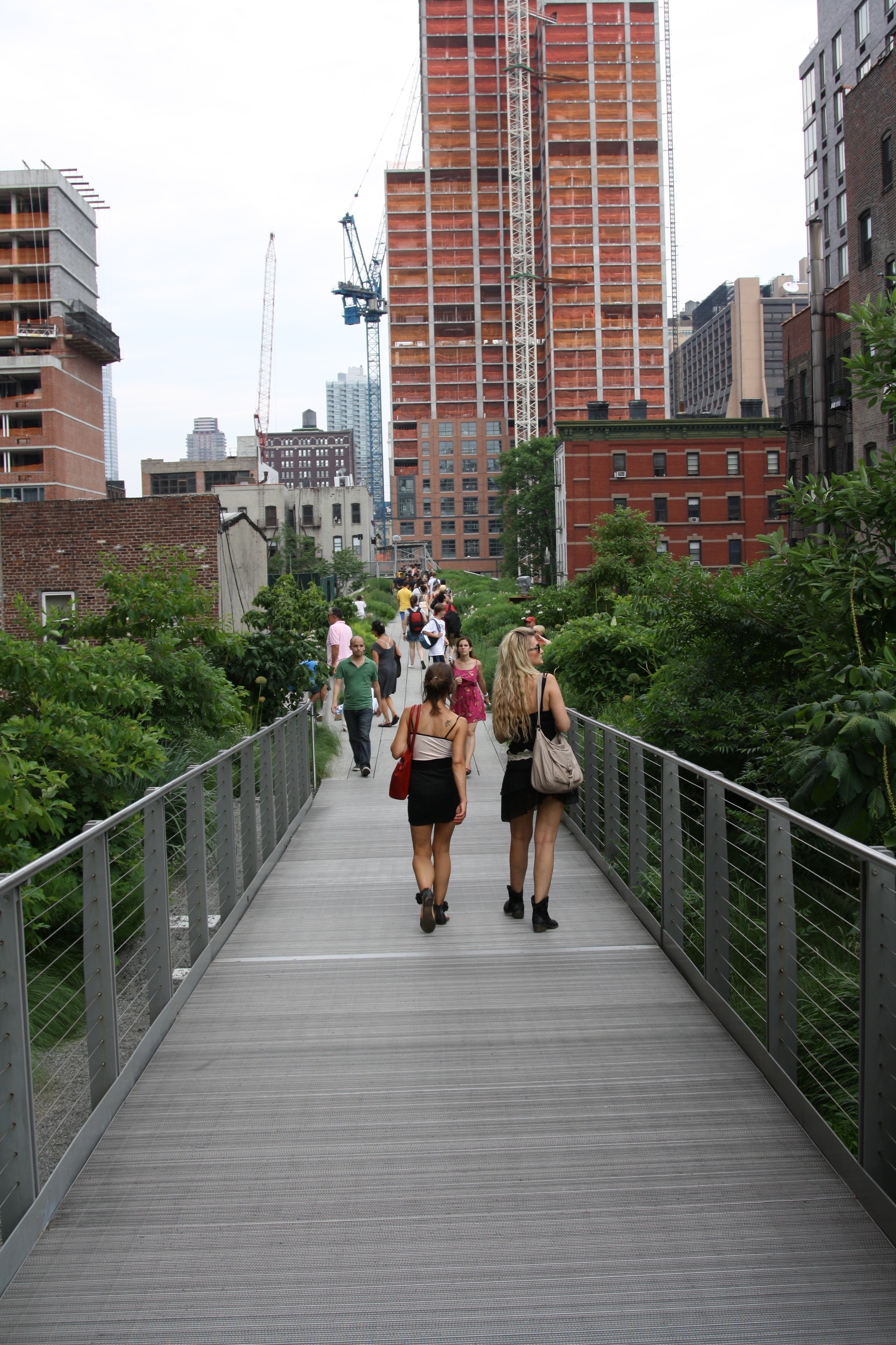 The High Line is one of the most iconic New York City outdoor sights. Don't miss it!