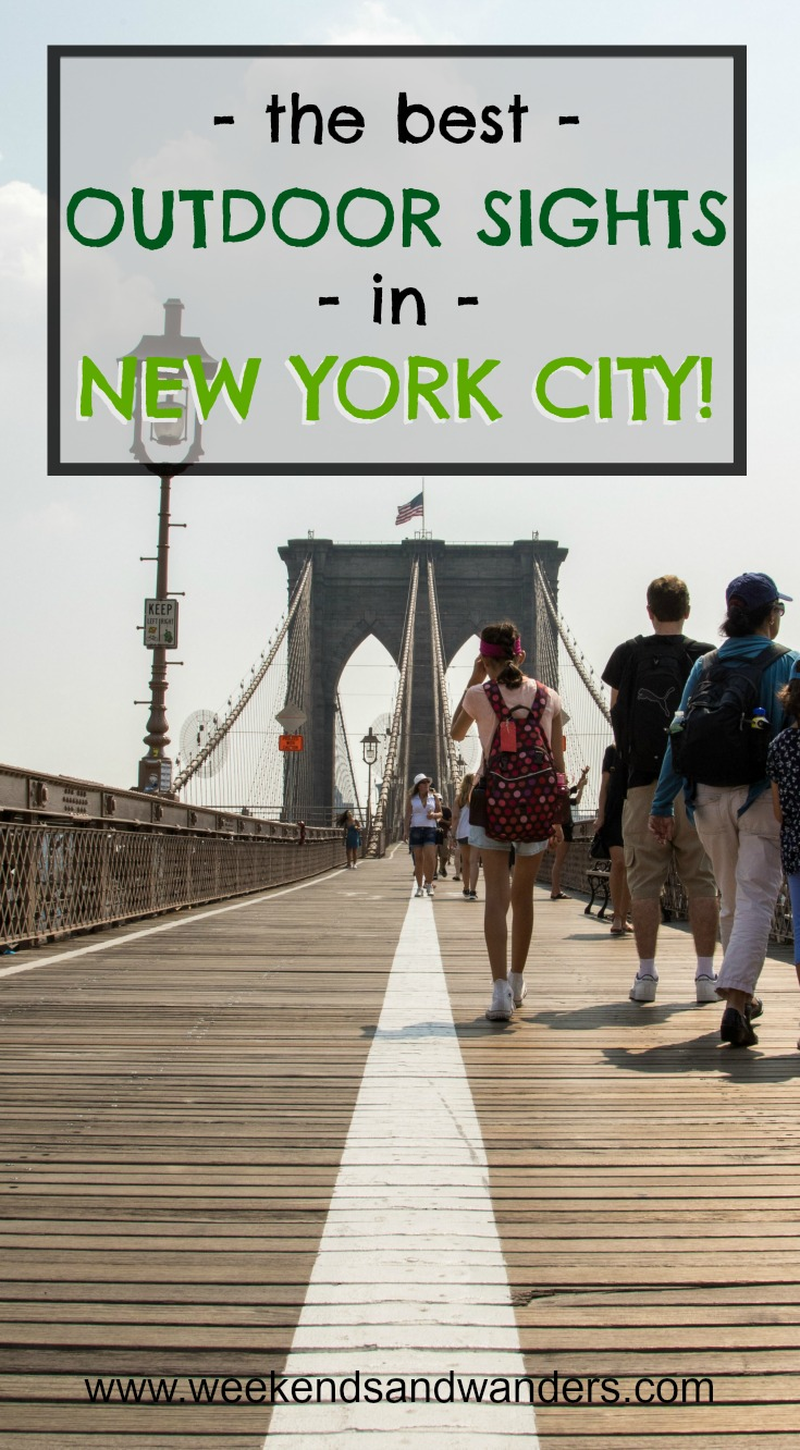 Explore all of our favorite New York City outdoor sights, and add a few of your own!