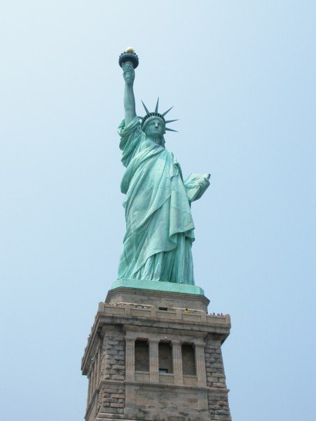 The Statue of Liberty is one of the most iconic New York City outdoor sights. Don't miss it!