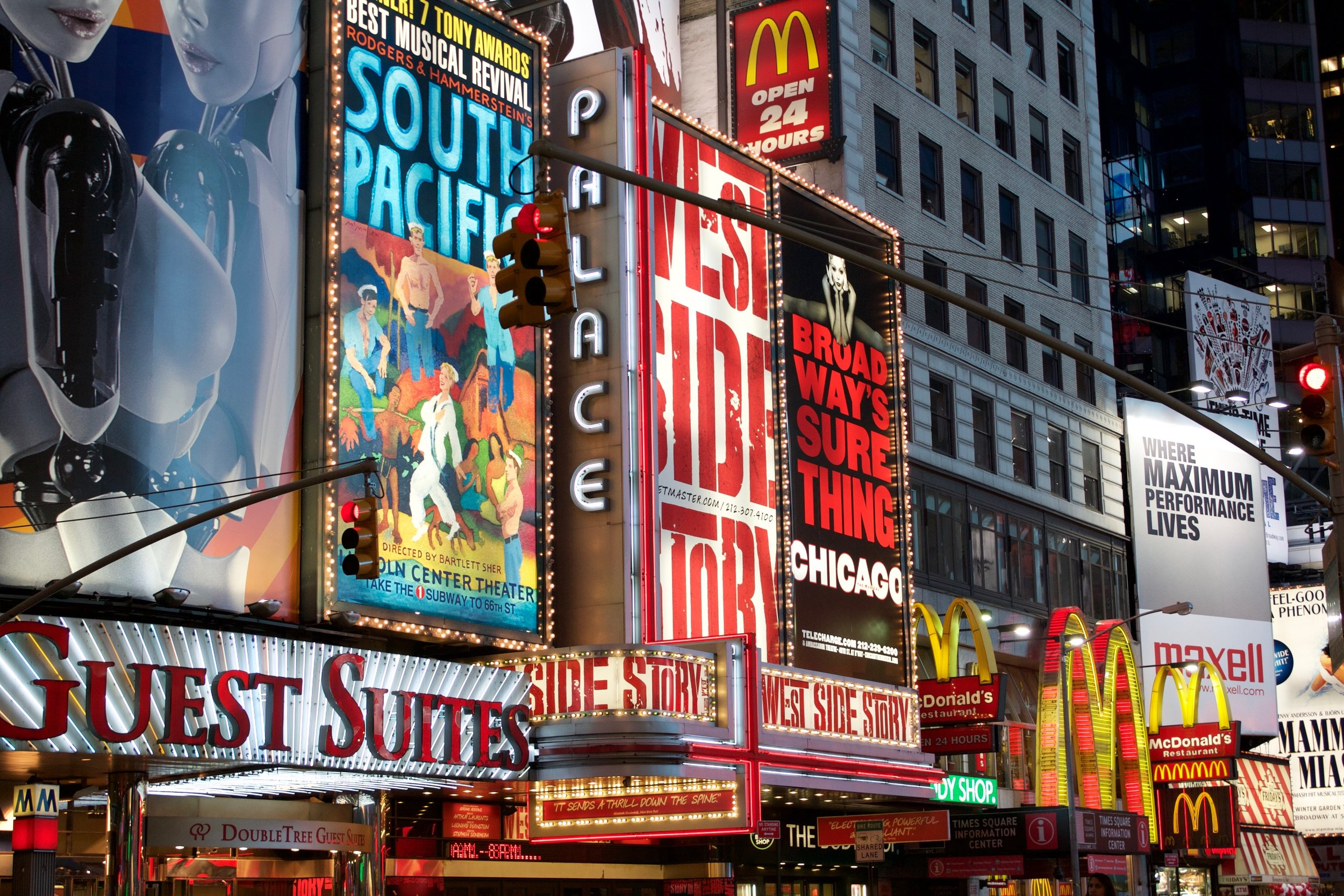 Times Square is one of the most iconic New York City outdoor sights. Don't miss it!