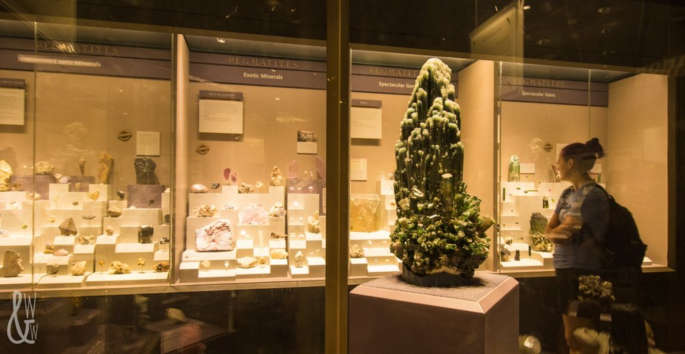 Shopping for gems at the Museum of Natural History