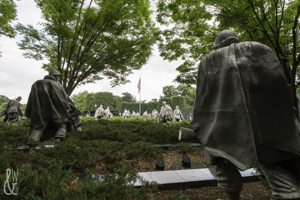 The Korean War Memorial