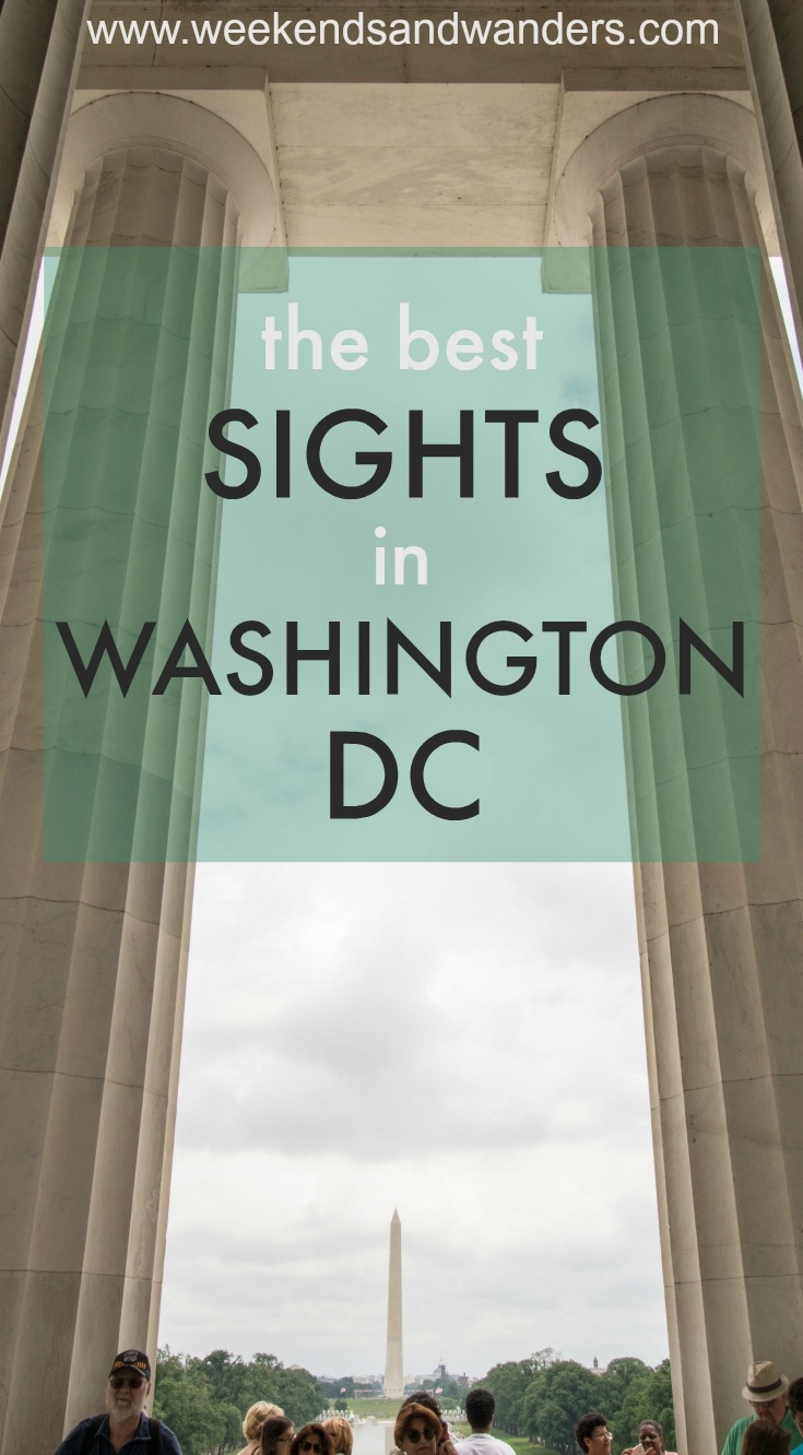Check out some amazing sights and bites in Washington DC!