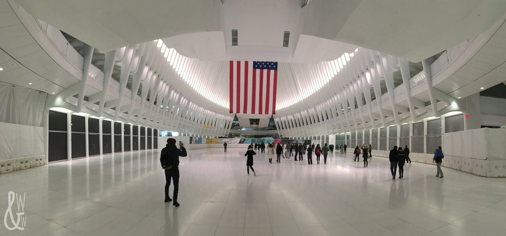 New York City has some of the best sights and museums in the world, like the World Trade Center!