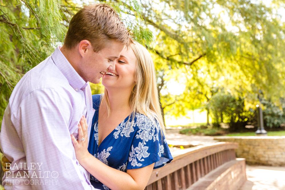 Kat & Drake's Splendid Summertime Engagement   Loose Park   Kansas City, MO