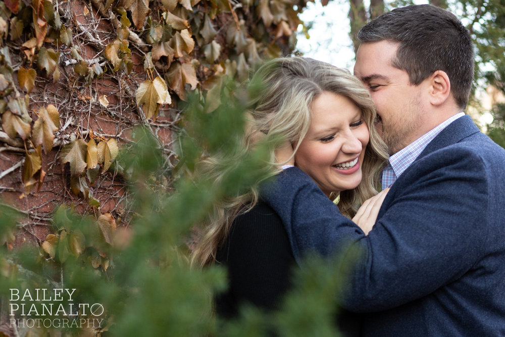 Final Days of Fall Engagement Session | Kansas City, MO