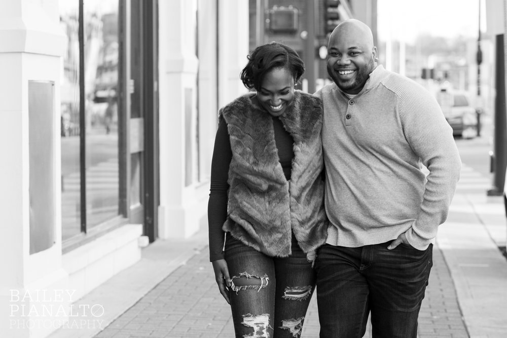 Hometown Downtown Engagement Session | Kansas City, MO