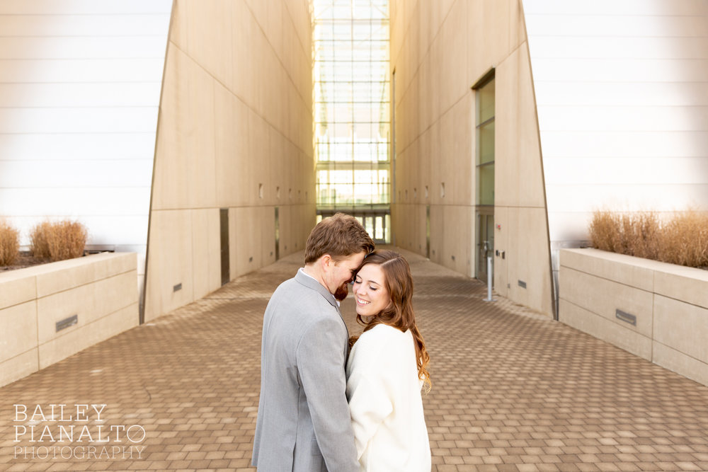Woods Engagement Session | Kansas City, MOWinter Woods Engagement Session | Kansas City, MO