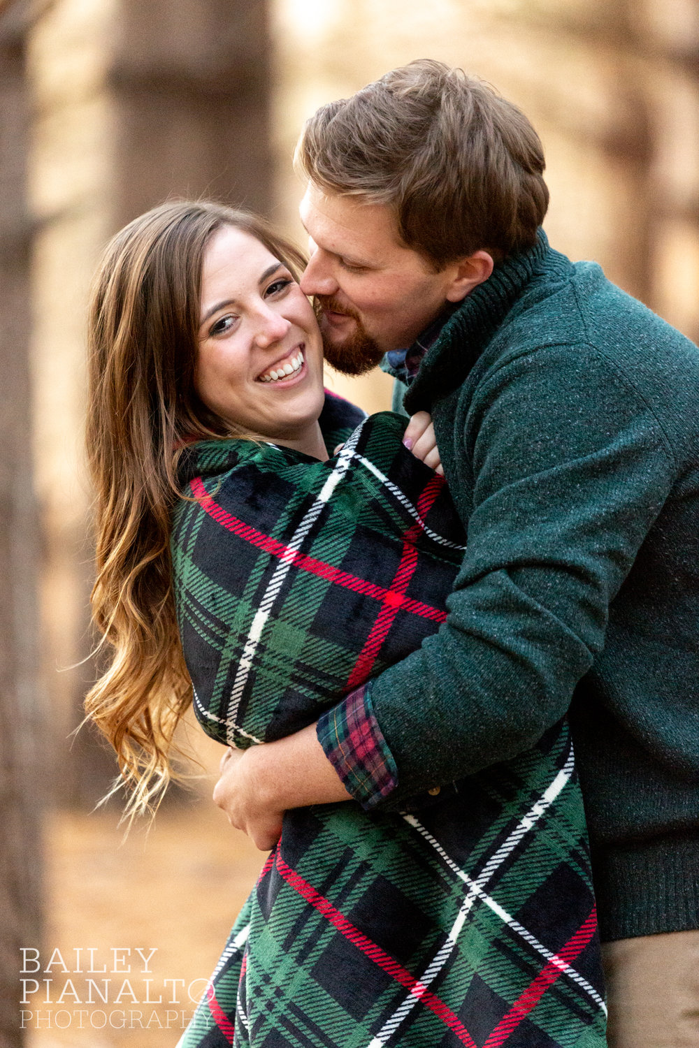 Winter Woods Engagement Session | Kansas City, MO