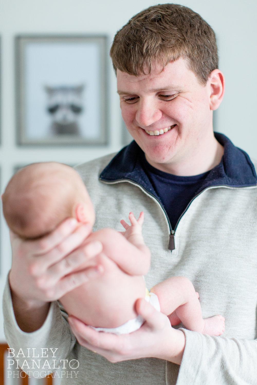 Cozy In-Home Newborn Session   Wildlife Nursery Inspiration