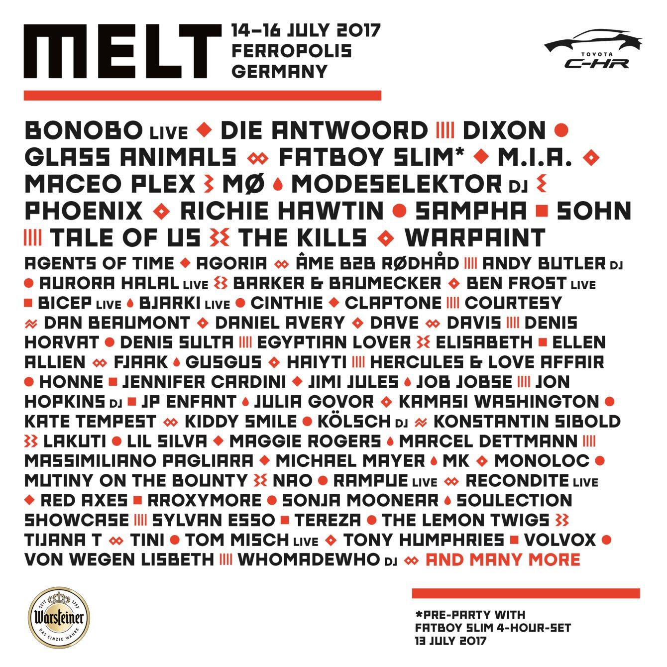 Melt Festival | Berlin — ANDRE POWER