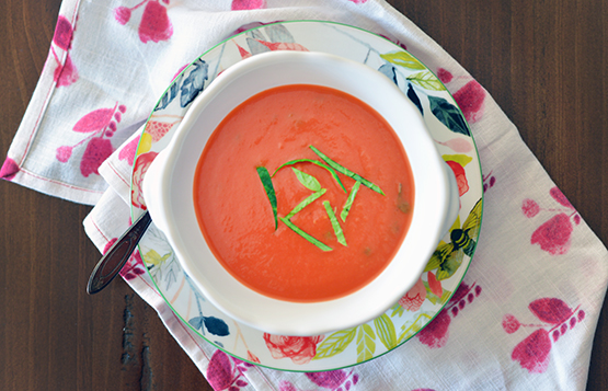 Quick Tomato Soup - Global Dish - Stephanie Arsenault