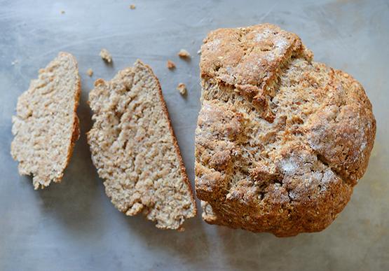 Irish Brown Bread - Global Dish - Stephanie Arsenault