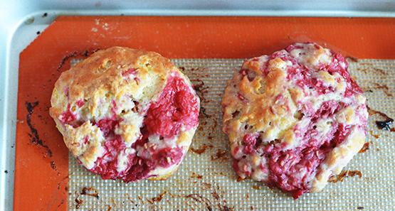 Raspberry Scones - Stephanie Arsenault - Global Dish