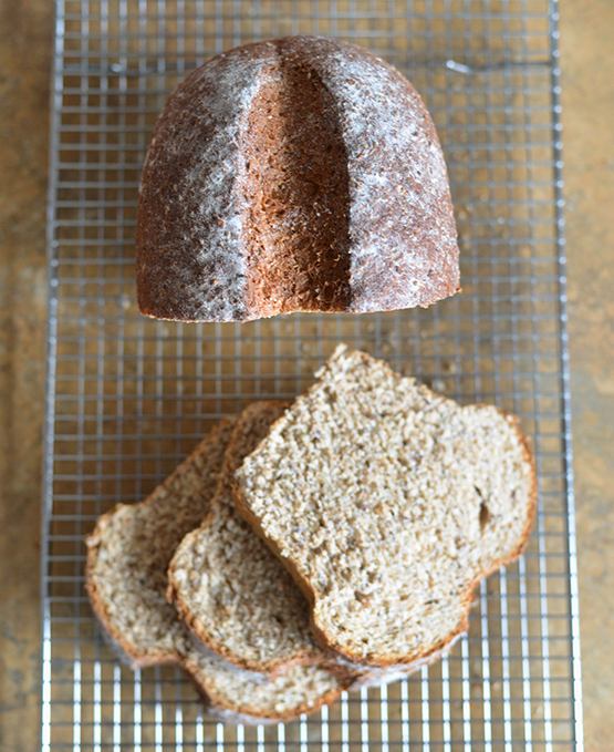 Whole-Wheat, Flax, and Hemp Heart Bread - Stephanie Arsenault - Global Dish