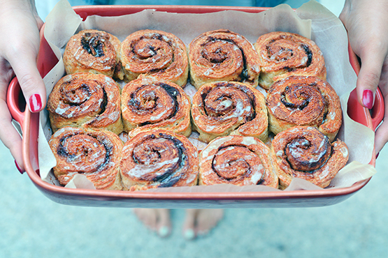 Cinnamon Swirl Biscuits - Stephanie Arsenault - Global Dish