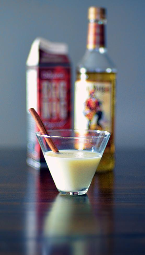 Rum and Eggnog - Stephanie Arsenault - Global Dish