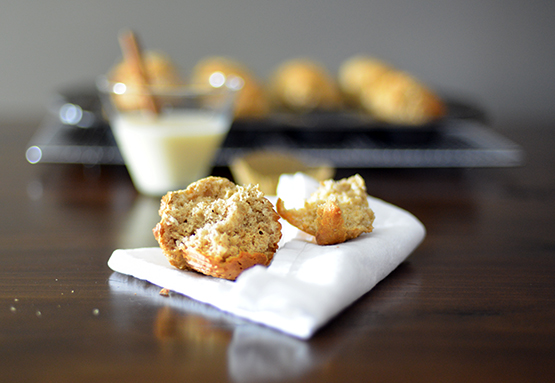 Eggnog Coconut Muffins - Stephanie Arsenault - Global Dish