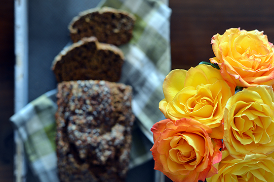 Spice Butternut Squash Bread - Global Dish - Stephanie Arsenault