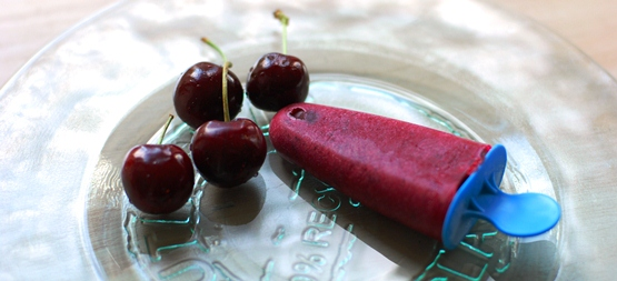 Cherry Plum Popsicle - Global Dish - Stephanie Arsenault