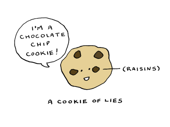 "Jason Sweeney's ""A Cookie of Lies"""